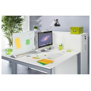 Separating screen desk in magnetic glass H 44,5 x W 58,5 cm Nobo