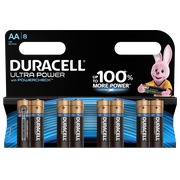 Blisterpackung mit 8 Batterien AA Duracell Ultra Power