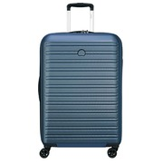 Valise Trolley 55 cm 4 roues DELSEY bleue