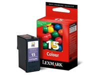 Cartridge Lexmark 15 Farbig