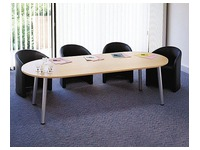Congress, ellipse table, 210 x 102 cm