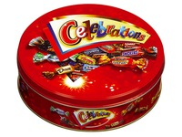 Metallkasten Celebrations 450 g