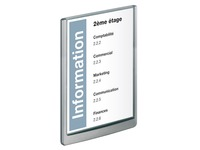 Plaque murale 32,8 x 23,3 cm Click Sign Durable