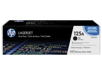 HP 125A - CB540AD pack 2 toners noirs