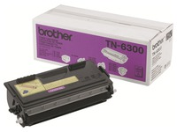 Brother TN6300 - noir - originale - cartouche de toner (TN-6300)