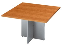 Extension pour table de réunion merisier L 120 x P 120 cm Excellens