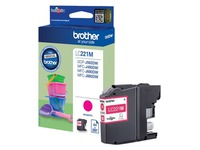 LC221M BROTHER MFCJ880DW INK MAGENTA
