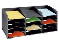 Classification box 15 cases for cabinet - W 83 cm