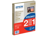 Epson Premium Glossy Photo Paper BOGOF - photo paper - 15 sheet(s)