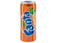Fanta orange canette 33 cl - Carton de 24
