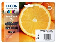 Epson 33 Multipack - 5-pack - black, yellow, cyan, magenta, photo black - original - ink cartridge