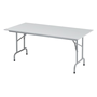 Folding table Primera 160 x 80 cm grey